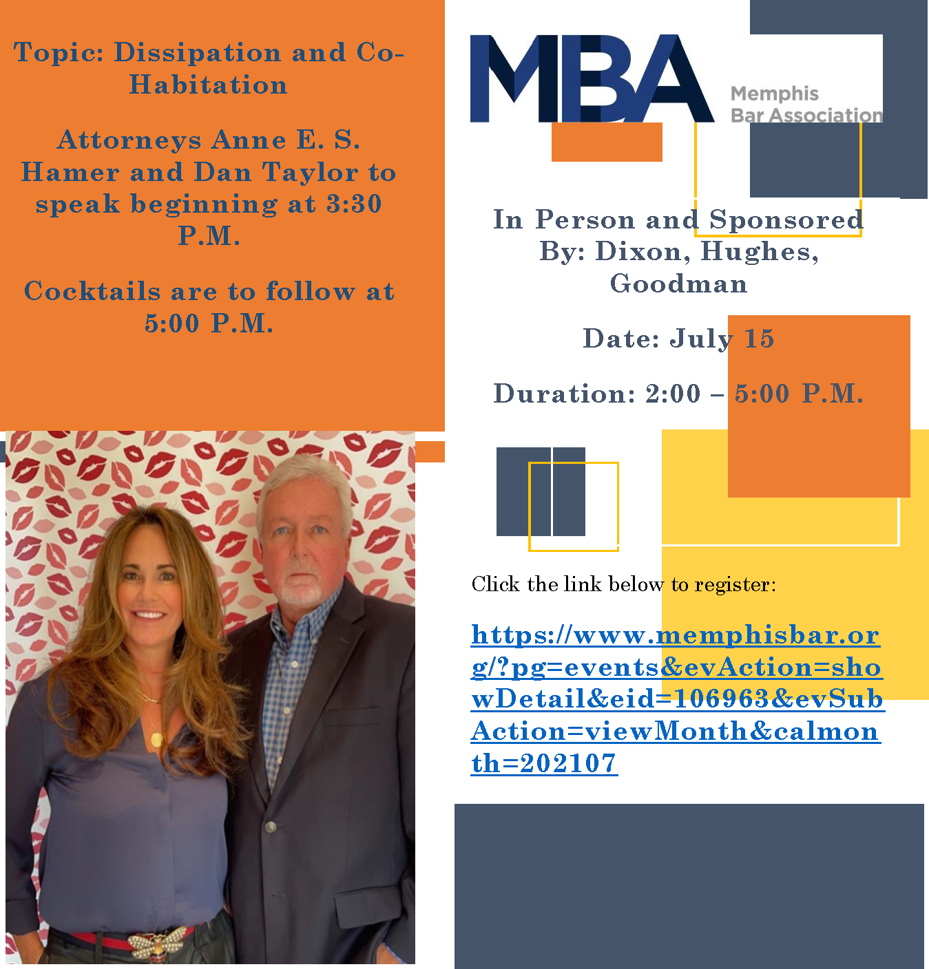 Join Us: Dissipation and Cohabitation